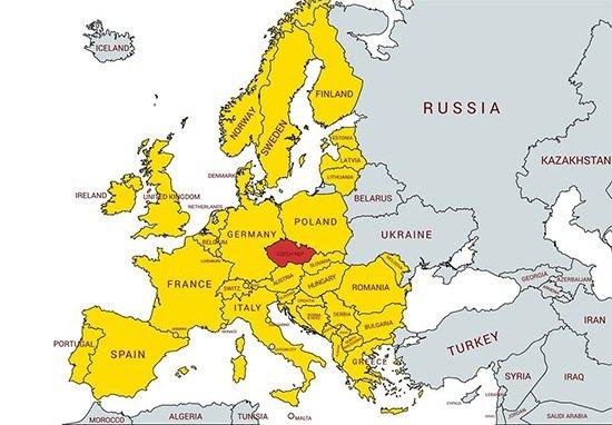 Vytěžování vozidel pro dopravu po celé Evropě