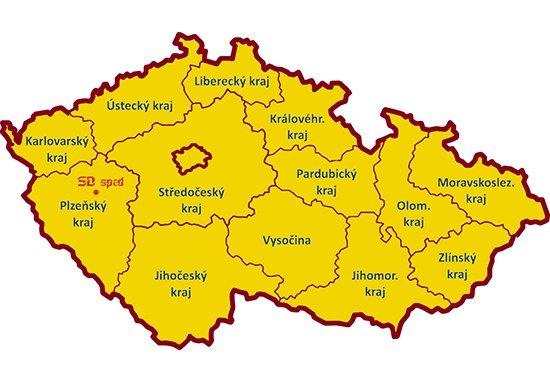 Vytěžování vozidel pro dopravu po ČR