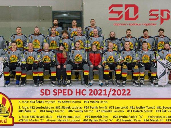 Podpora hokejového klubu HC SD sped